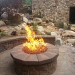 Great Fire Pit Flame