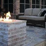 Backyard Seating and Gas Fire Pit
