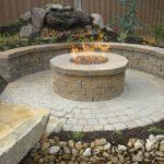 Beautiful Circle Backyard Fire Pit