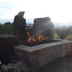 One Custom Fire Pit Idea