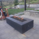 Final Stage Fire Pit with Key valve