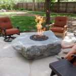 The Gas Connection Final Hookup of Custom Fire Pit