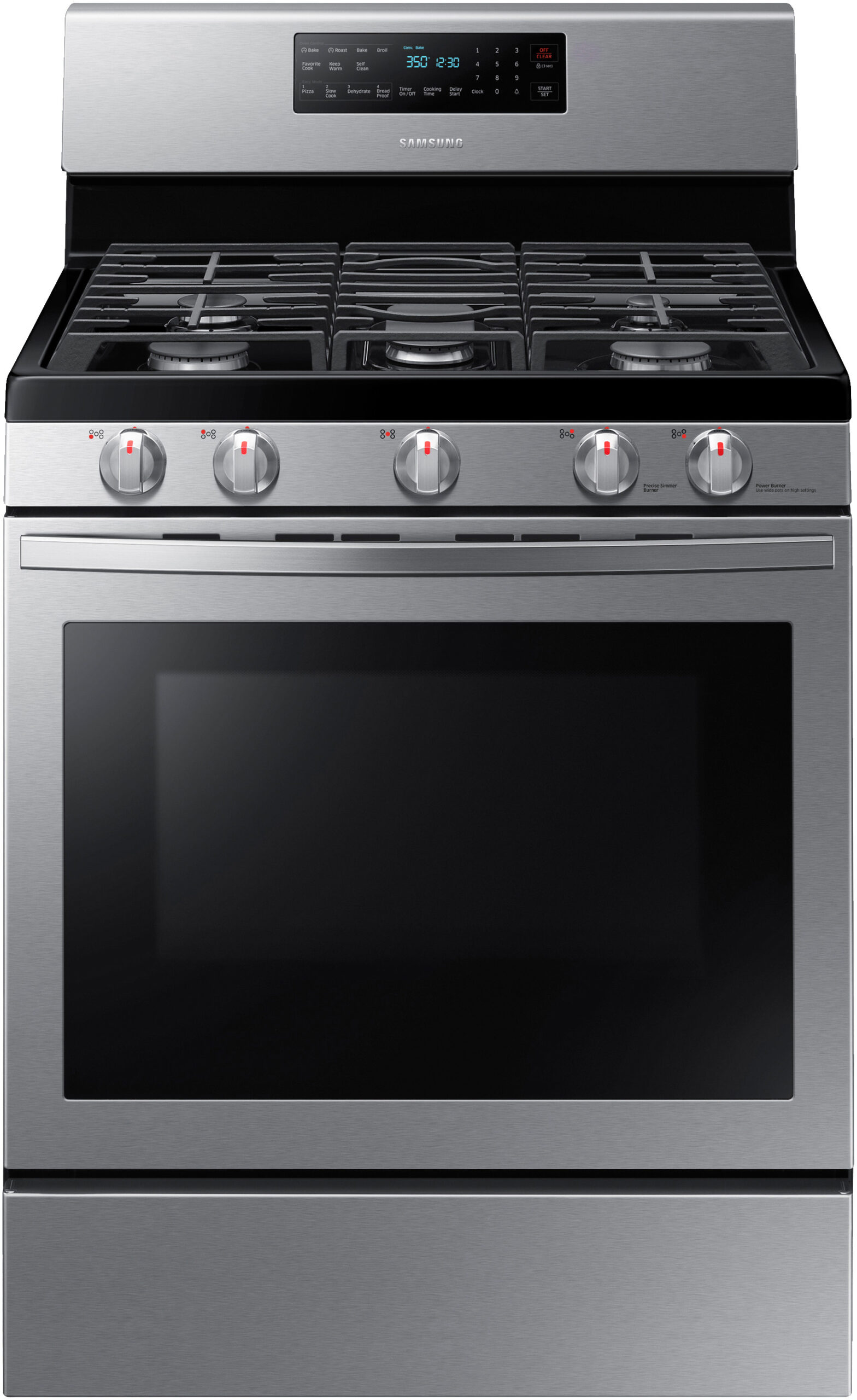 Samsung Gas and Duel Fuel Oven NX58R5601SS