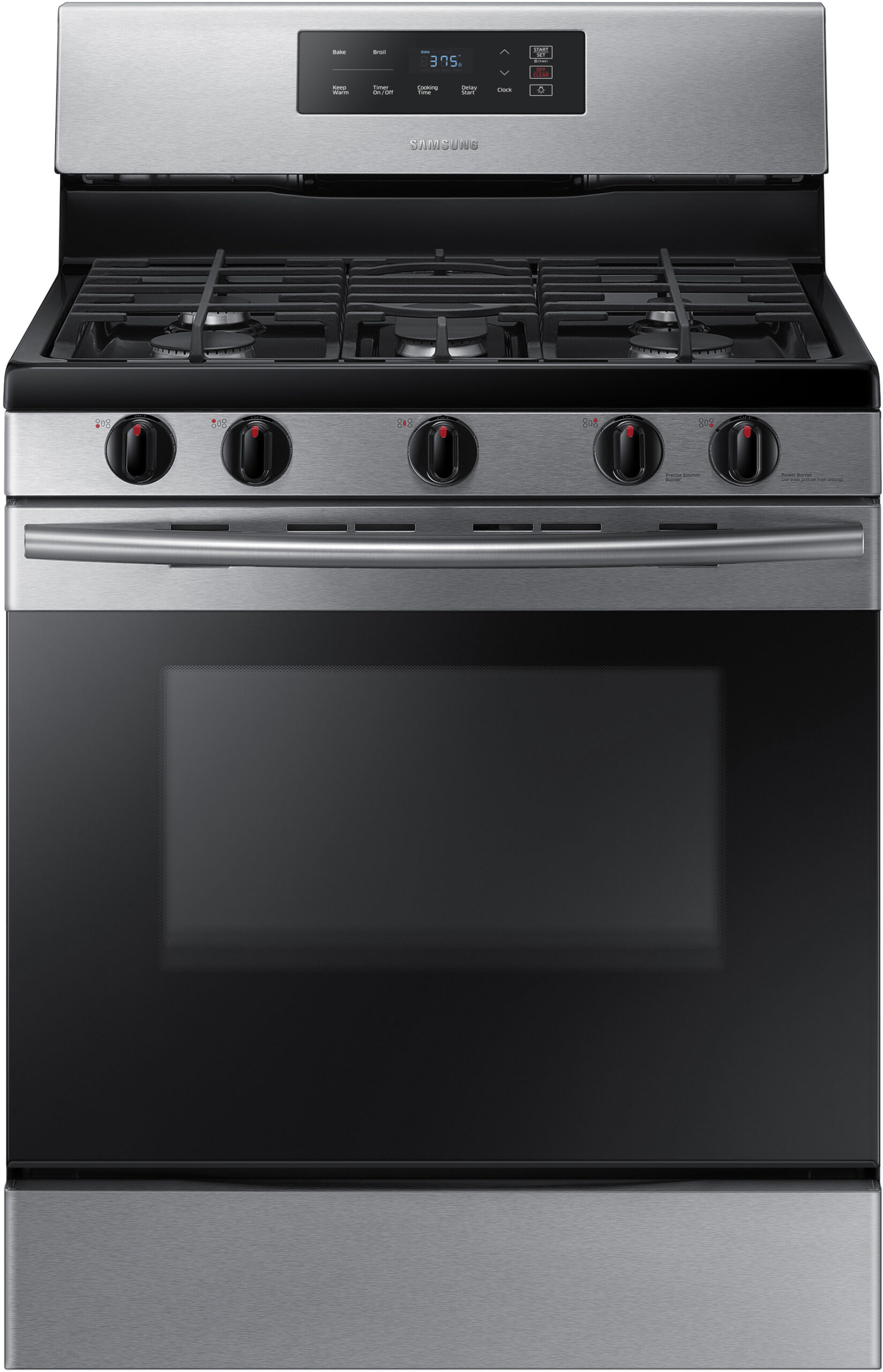 Samsung Gas and Dual fuel Oven NX58K3310SS
