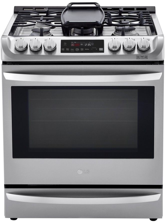 LG Gas and Dual fuel Oven LSD4913ST