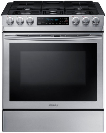 Samsung Gas and Dual fuel Oven NX58M9420SS