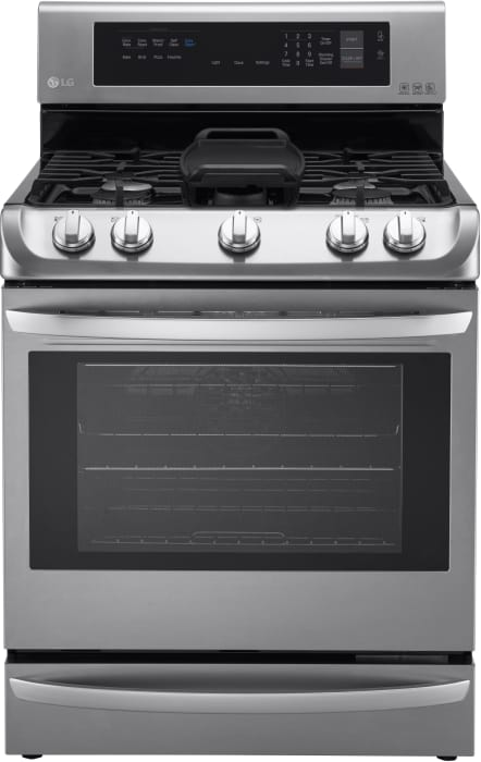 LG Gas and Dual fuel Oven LRG4115ST