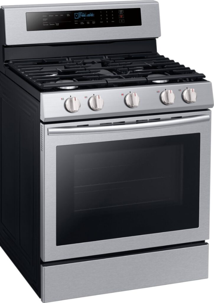 Samsung Gas and Dual fuel Oven NX58M6630SS