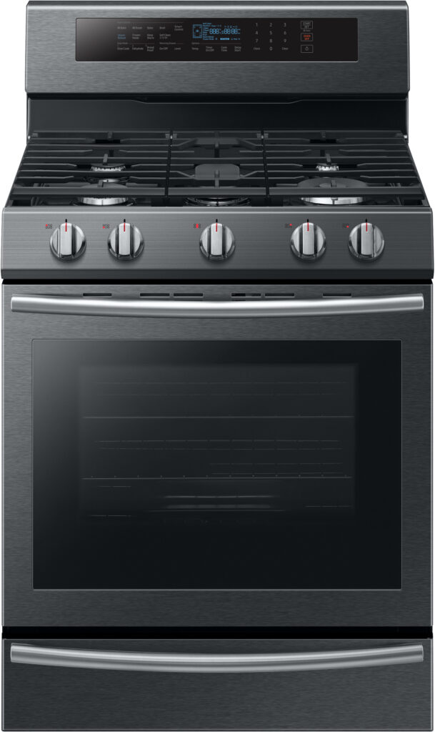 Samsung Gas and Dual fuel Oven NX58M6650WG