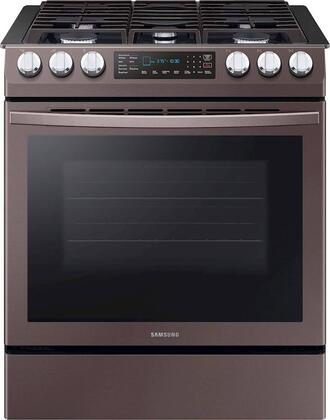Samsung Gas and Dual fuel Oven NX58R9421ST